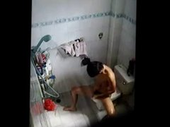 asian men wank gonzo in bath with xxx hidden cam captured