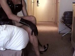 Part 1-2: Mules gonzo and Stockings in xxx my hotel room