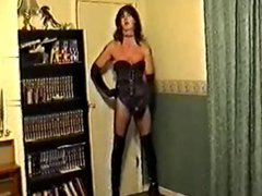 satin and porn boots 1