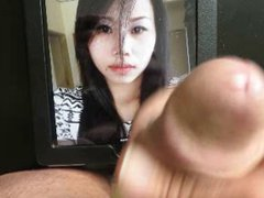 Facial cum tribute for anal this fuck asian beauty