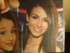 Ariana Grande and Victoria tube Justice galore tribute