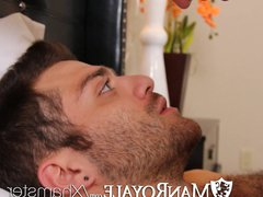 HD - porn ManRoyale Guy wakes up hub with bf's mouth on his dick