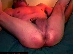 Hairy straight redneck sword anal fighting fuck with gay mature