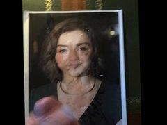 18th birthday porn cum tribute for Maisie hub Williams