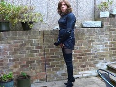 Alison Thighbootboy wanking in anal her fuck new lycra thigh boots