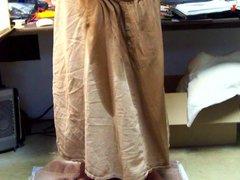 Brown sex Skirt Relief