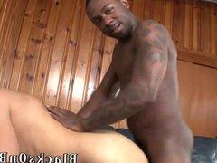 Sky Smith Takes gonzo His First Big xxx Black Cock