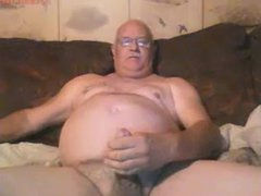 Old sex Man jerks off xnxx and cums