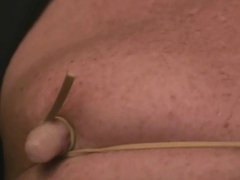 Nipple Tie with gonzo rubber-band