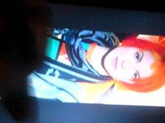 Hayley Williams cum tribute tube #5