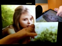Chloe Grace Moretz gonzo is Angelic in xxx Allure Tribute