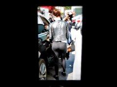 Emma Stone's ass cum anal tribute fuck 2