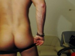 Muscle Stud Naked Jerk tube and galore pose