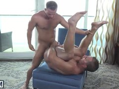 Hot studs Landon gonzo and Luke enjoy xxx in an awesome fuck on a boat