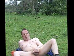 Dare: sex strip off and xnxx wank in an open field.