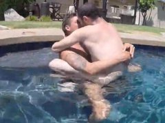 Pool Man becomes Daddy's tube Lover