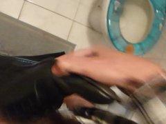 Cum in men's dress tube shoe