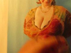 Big boobs cleavage gonzo cumtribute