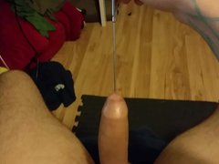 Playing sex around with new xnxx urethral sounds for the first time