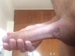 Jerking out a small tube nut