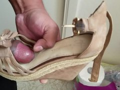 Cum on wedges for tube the galore 2nd time