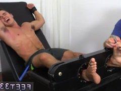 Feet fetish porn boy gay sex video hub and dads feet gay Matthew Tickled To
