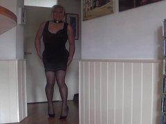 Property Mistress JeZz: Angela tube dildo galore in her ass