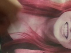 WWE Becky Lynch Cum tube Tribute