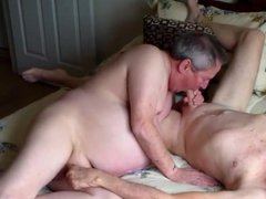 Naked gay porn old men