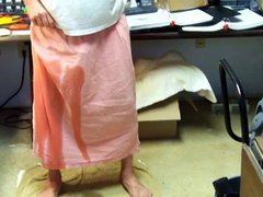 Pee in Pink gonzo Skirt #2 - xxx Video 151