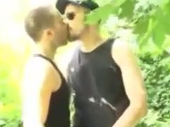 Horny French Boys gonzo in the Woods