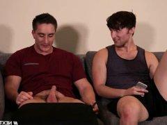 NextDoor Str8 Friend gonzo Double Teamed by xxx Gay Roomies