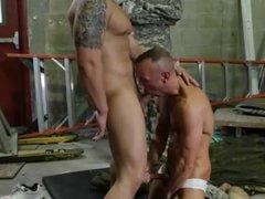 Military men gay gonzo sex movietures Fight xxx Club
