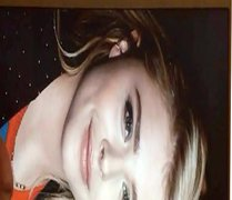 Chloe Grace Moretz Double tube Cum galore Tribute