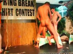 Gay sexy hot men anal party fuck kissing and having gay sex CUM RACE!