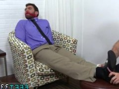 Hairy men with gonzo red hairy legs xxx gay Chase LaChance Tied Up, Gagged & Foot
