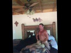 Muscle cowboy porn daddy fucks his muscle hub sub