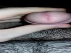 Jerking off my hard anal dick fuck part 2
