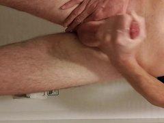 Hanger sex foreskin weight premature xnxx handsfree cum and wank