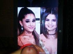 Cum sex Tribute To Ariana xnxx Grande & Selena Gomez Huge Load