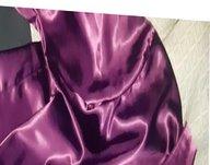 Satin sex satin blouse silky