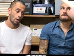 YoungPerps sex - Two Hot xnxx Latino Pervs Gets Fucked Raw By Security Officer
