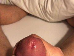 masturbate and porn cum in a hotel hub room