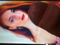 Sophie Turner Cum Tribute anal #2 fuck (SPECIAL GOT Cum Week)