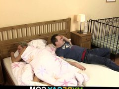 Morning gaysex porn with blonde buddy gets hub discovered!