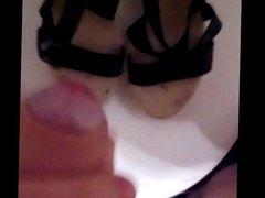 Shoe Cum porn fest 1# (stranger shoes)