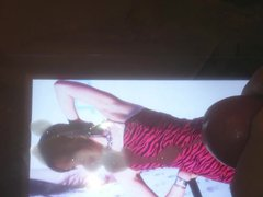 Red sex Velvet Wendy Cumtribute