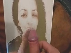 Cum tribute porn on a tributed photo hub of my gfriend
