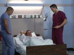 Hospital gay orgy