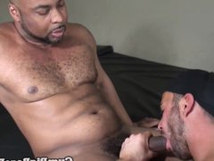 buttfucking black porn hunk sprayed with hot hub jizz